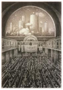 Image in Shaun Tan's 'The Arrival' on fourteenth page of chapter II