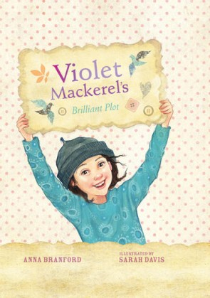 Book cover image for Violet Mackerel's Brilliant Plot