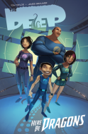 Book cover image for The Deep: Here Be Dragons