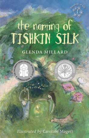 The Naming of Tishkin Silk book cover image