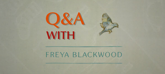 Q&A with Freya Blackwood