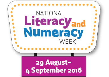 National Literacy and Numeracy Week logo