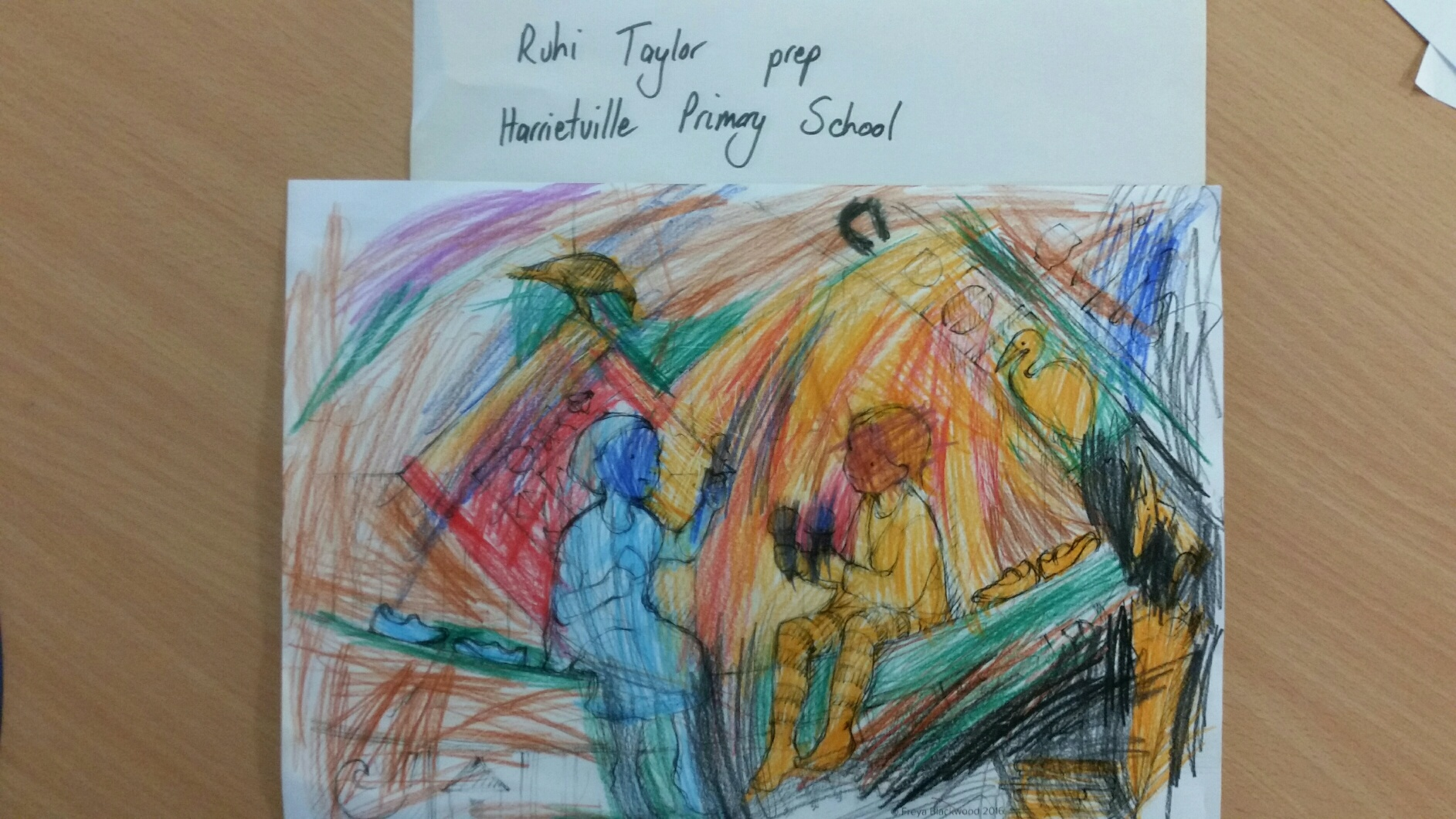 Ruhi T, Prep, Harrietville Primary School, VIC