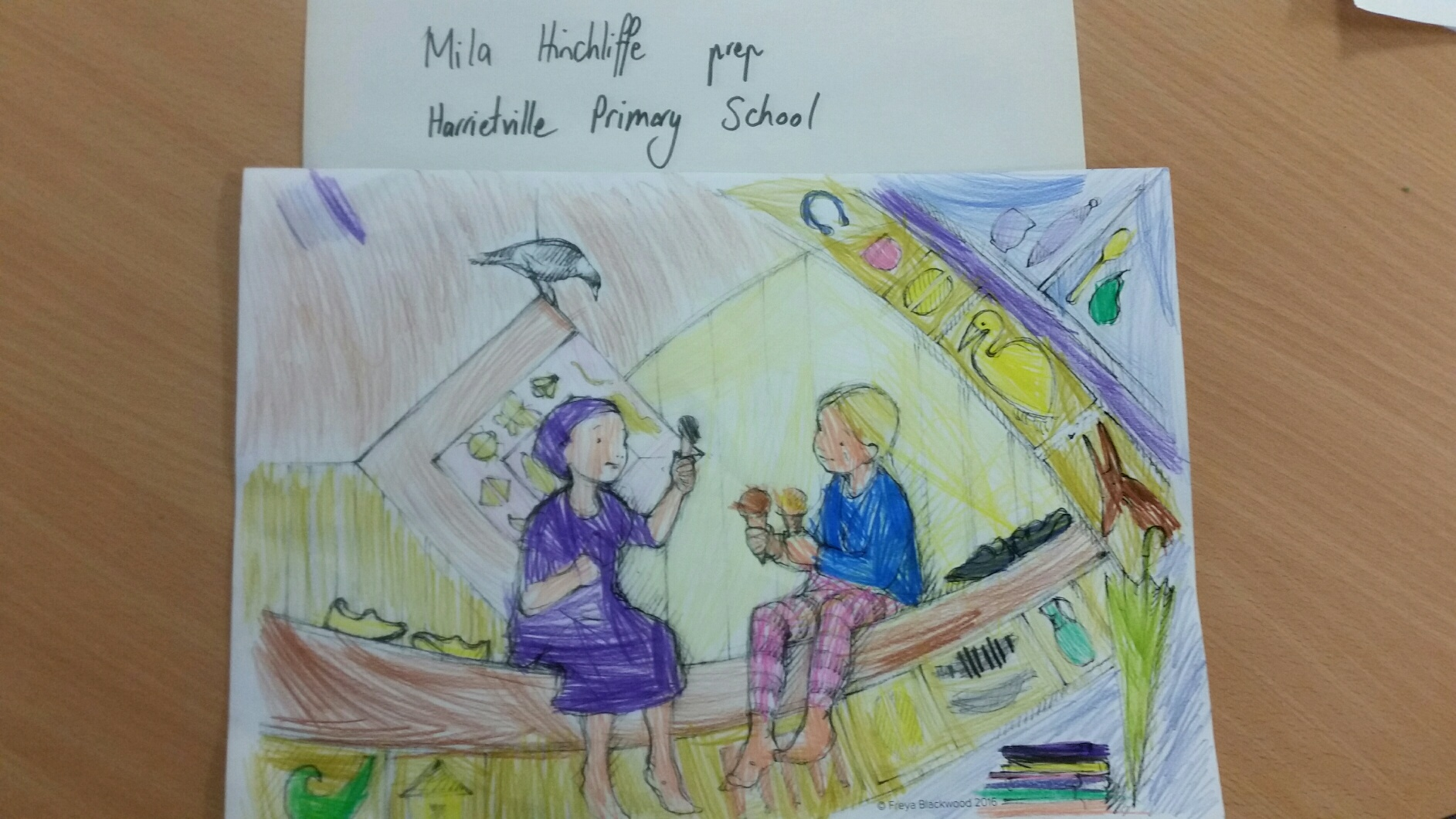 Mila H, Prep, Harrietville Primary School, VIC