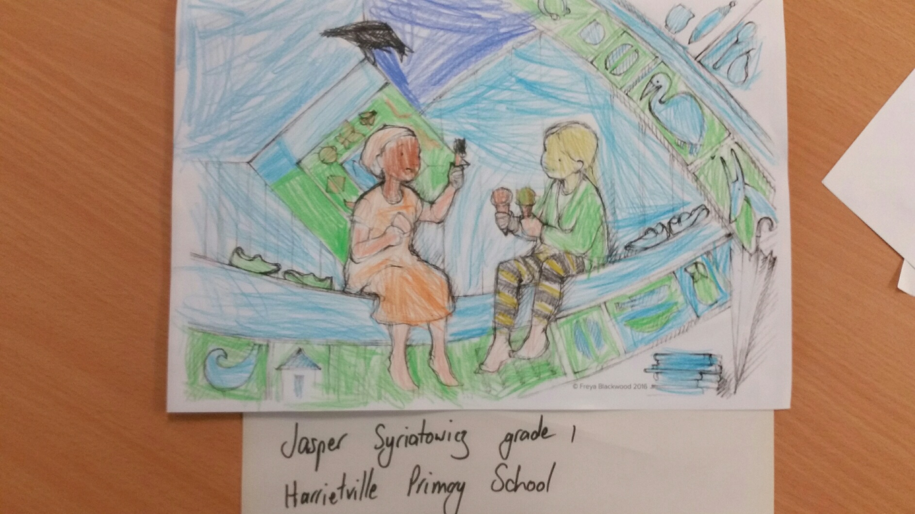 Jasper S, Year 1, Harrietville Primary School, VIC