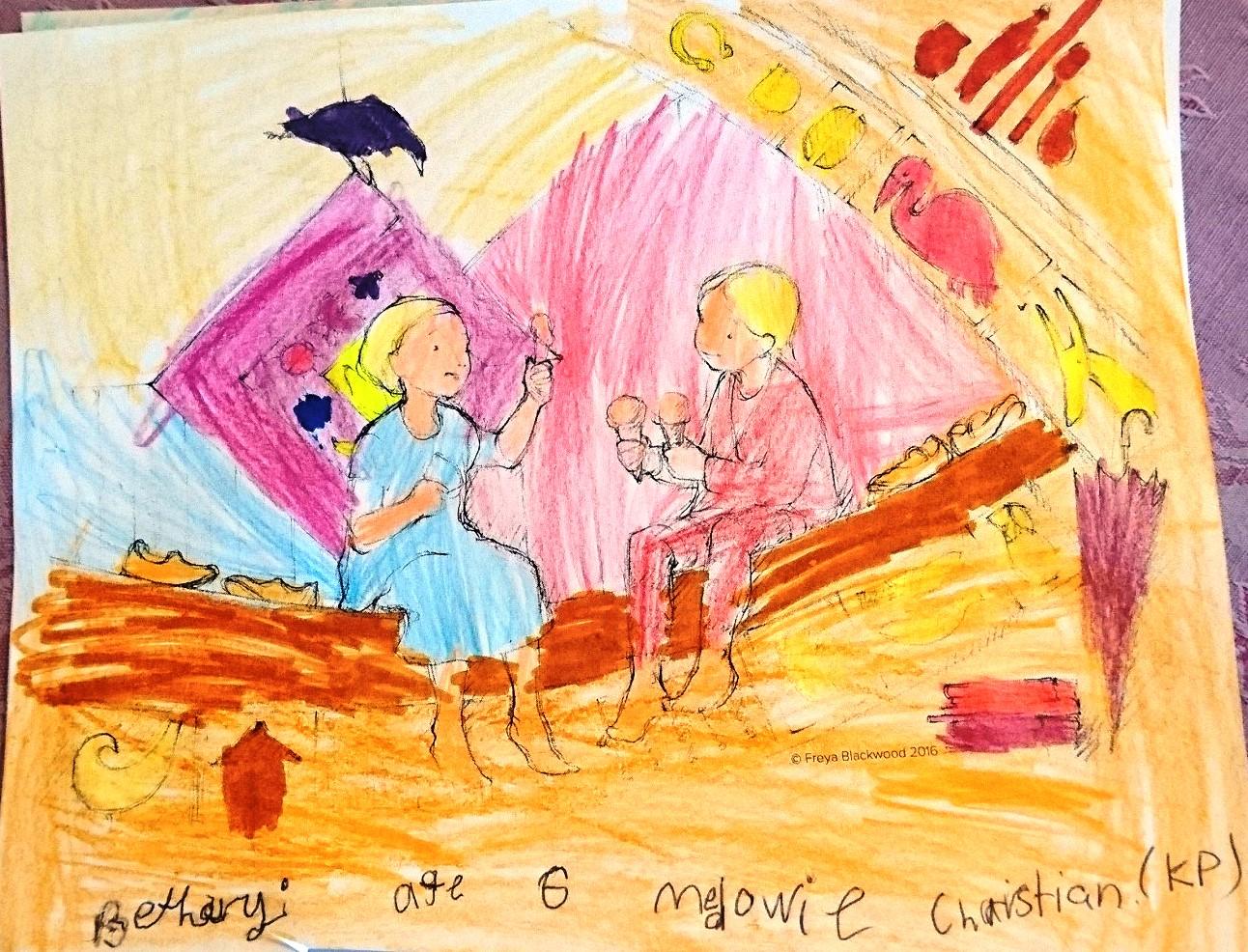 Bethany G, age 6, Medowie Christian School, NSW.