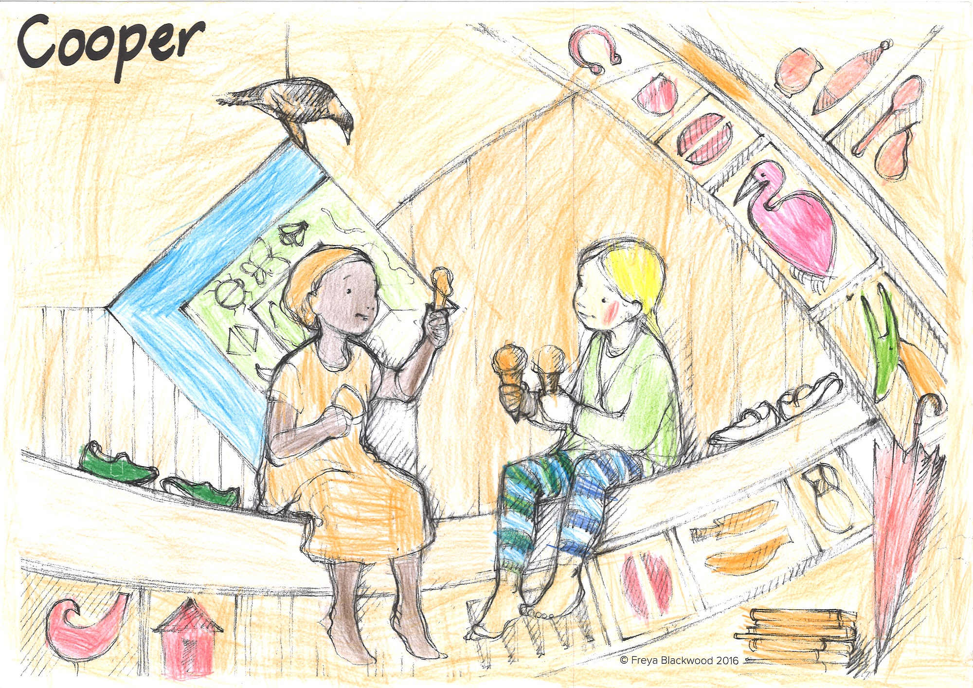 Cooper, Year 2, Durack School, NT