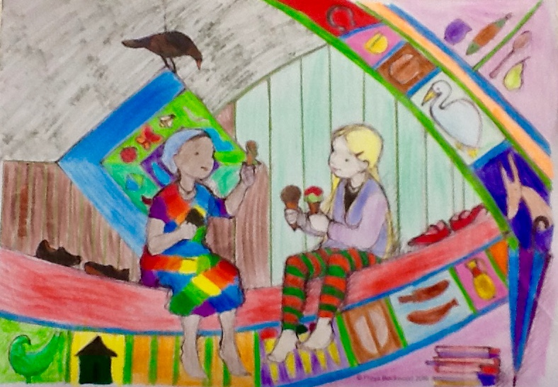 Madison H, age 12, Modbury West School, SA