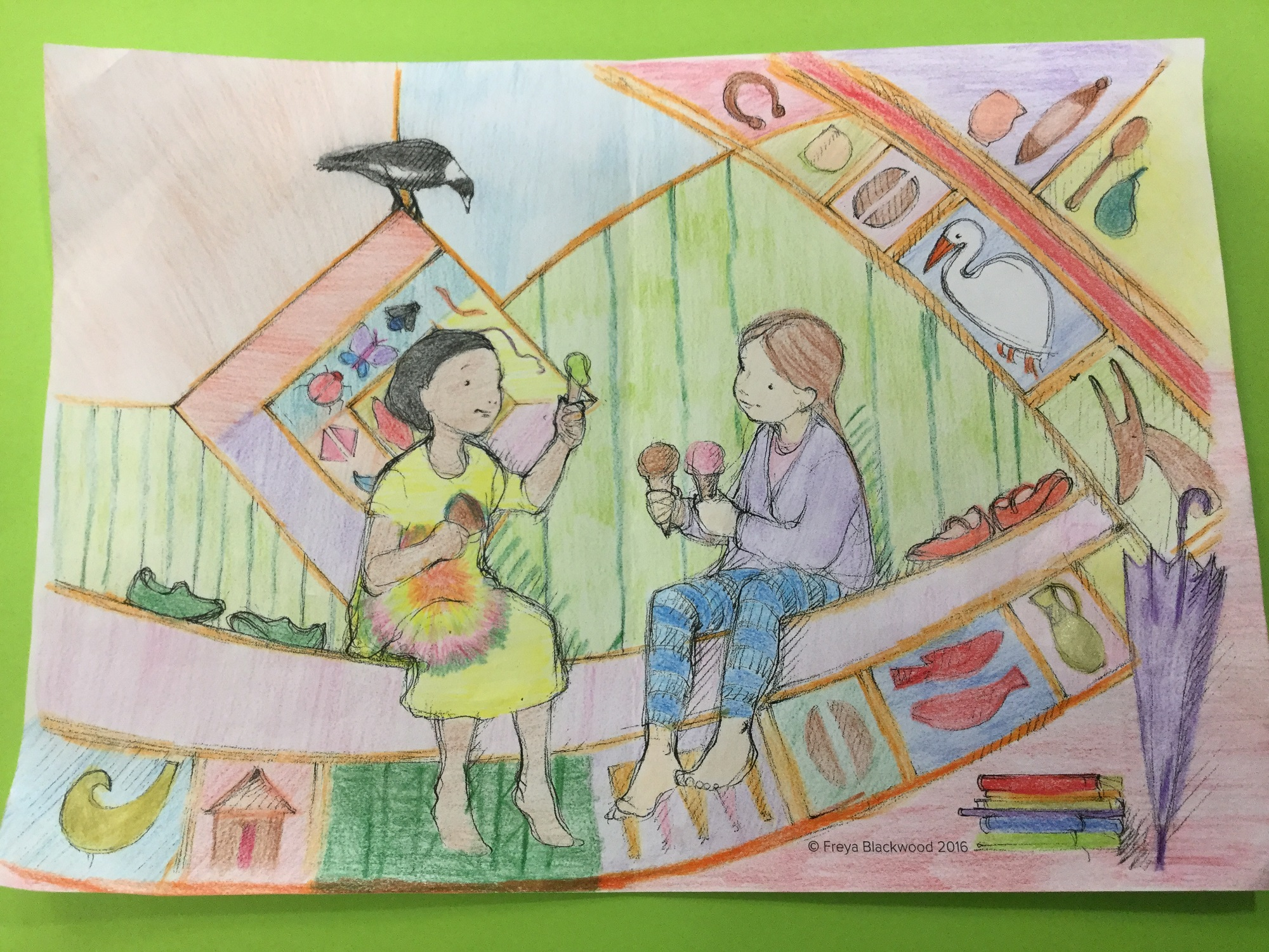 Sameeka L, Year 6, Kinross Wolaroi Prep School, NSW