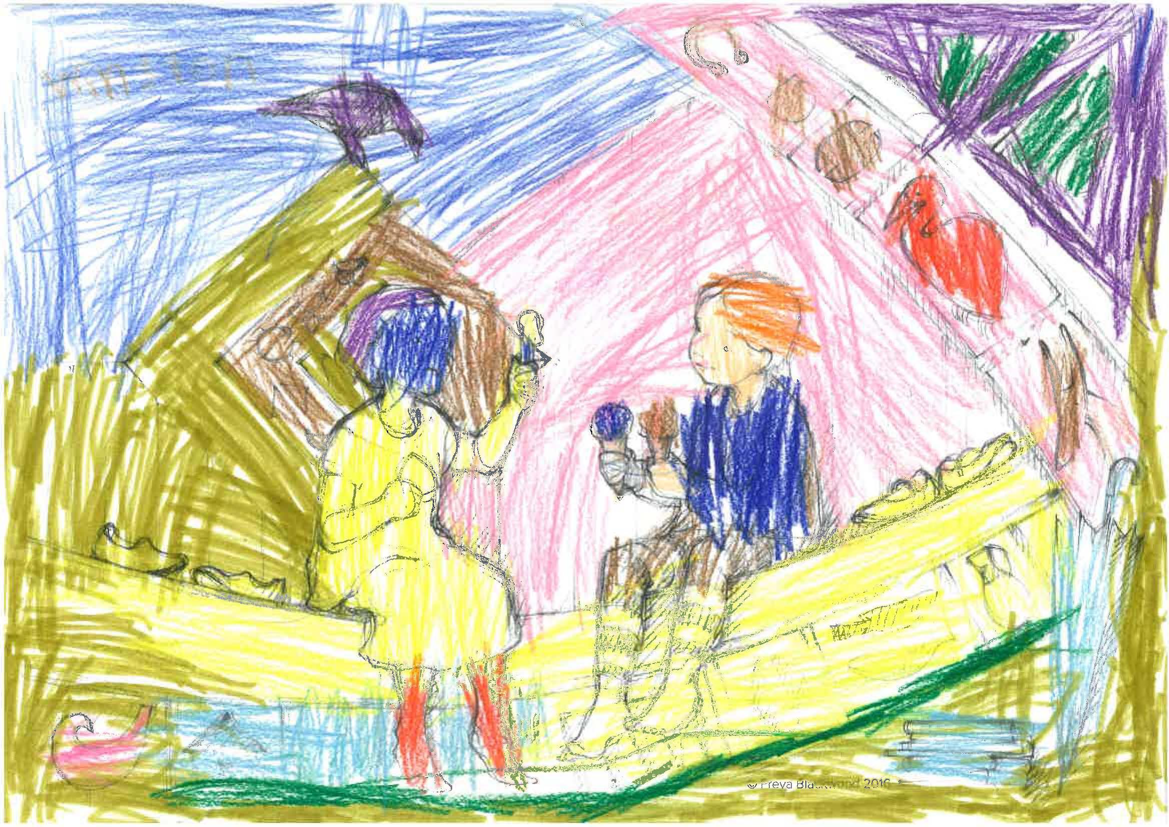 Winston, age 6, Woollahra Public School, NSW