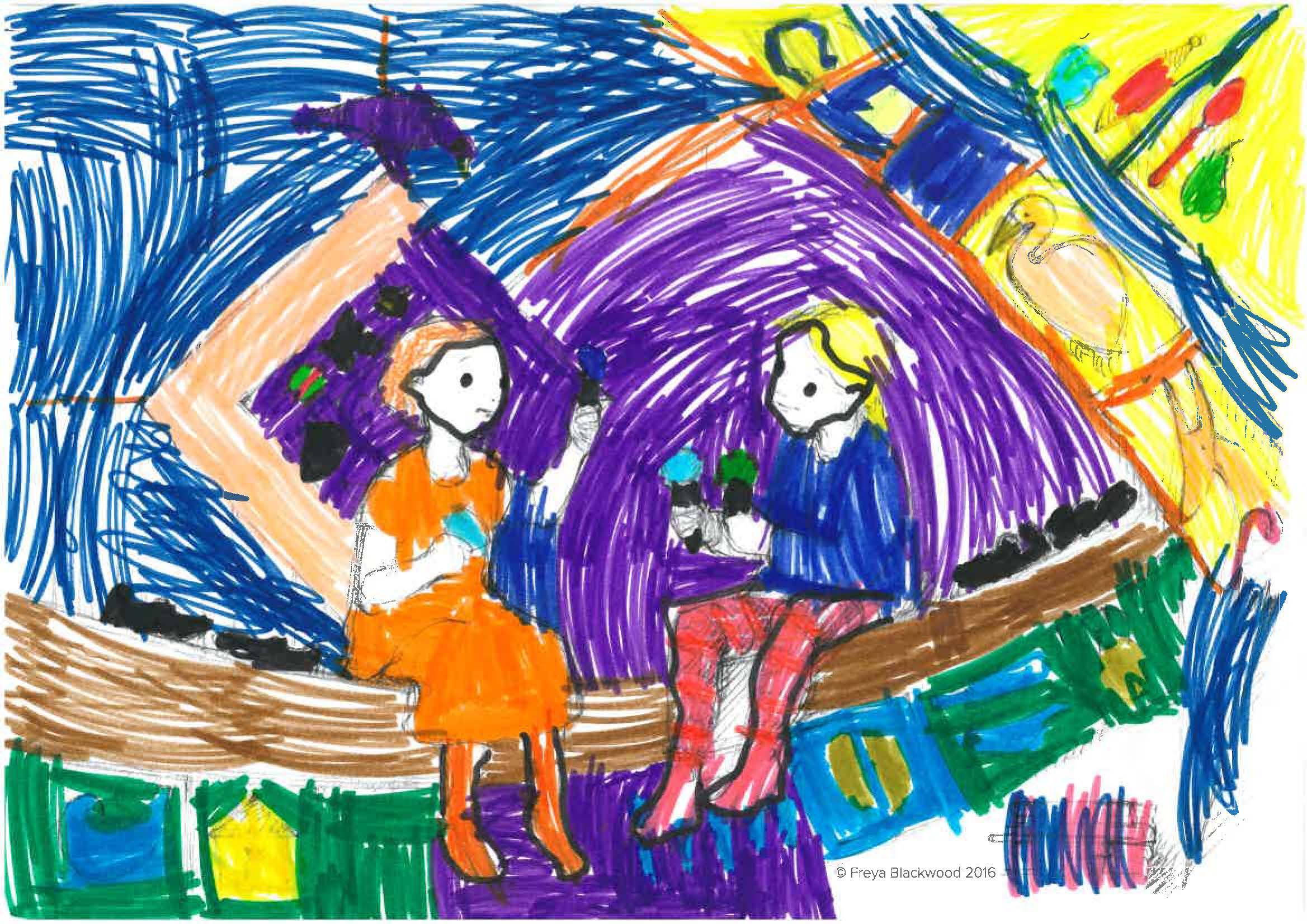 Charlotte, age 6, Woollahra Public School, NSW